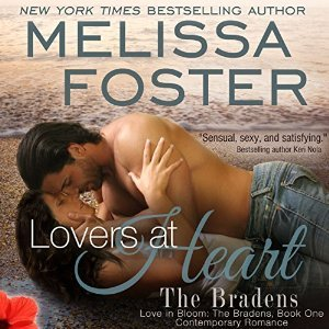 Lovers At Heart (The Bradens, Book One) – AUDIOBOOK