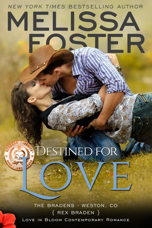 DESTINED FOR LOVE (The Bradens, Book Two)
