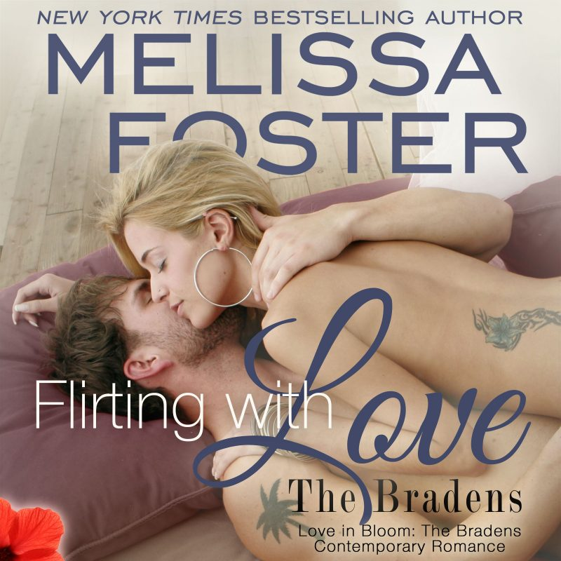 Flirting with Love (The Bradens at Trusty, CO) AUDIOBOOK narrated by B.J. Harrison
