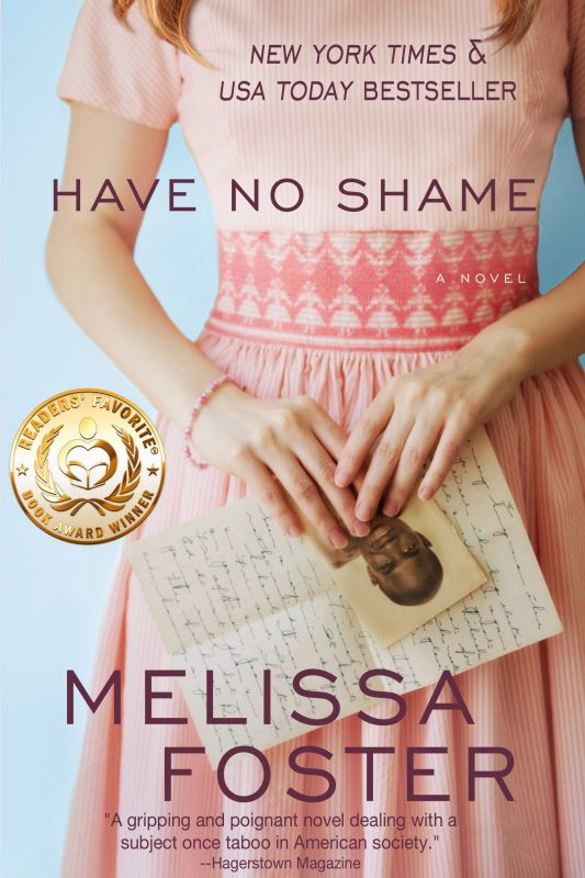 HAVE NO SHAME, New York Times & USA Today Bestseller