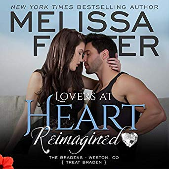 Lovers at Heart, Reimagined (The Bradens, Book One) AUDIOBOOK narrated by Andi Arndt and Sebastian York