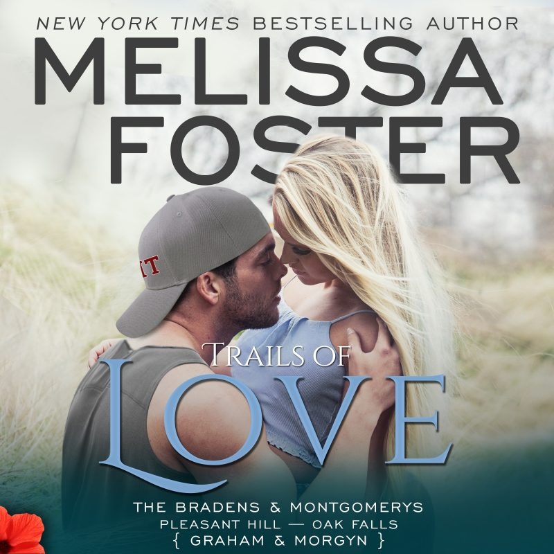 Trails of Love – The Bradens & Montgomerys (Pleasant Hill – Oak Falls) AUDIOBOOK narrated by Virginia Rose and Aaron Shedlock